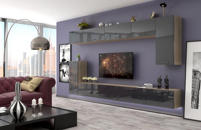 Обустройство гостиной в современном стиле